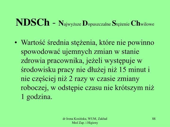 NDSCh