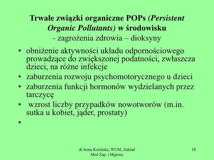 Trwałe związki organiczne POPs