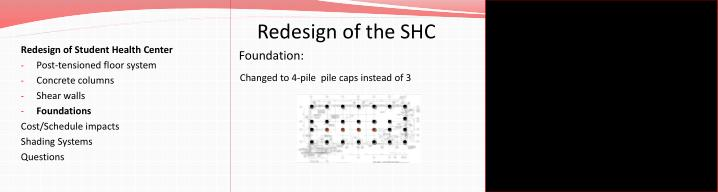 Redesign of the SHC