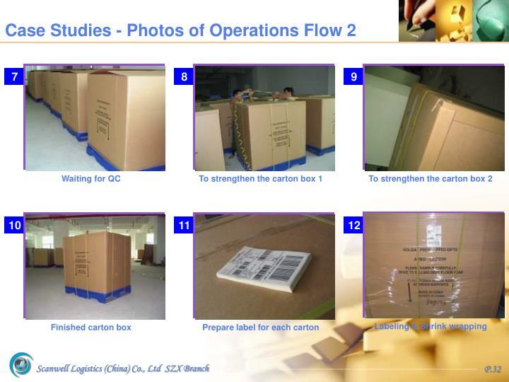 Case Studies - Photos of Operations Flow 2