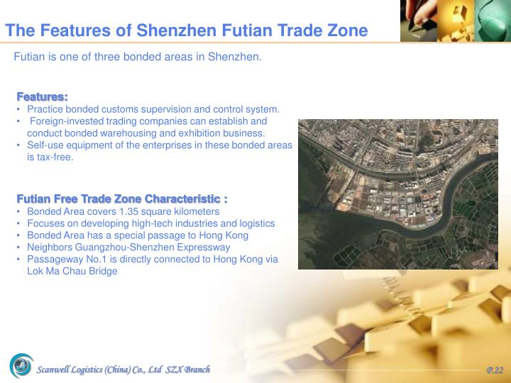 The Features of Shenzhen Futian Trade Zone