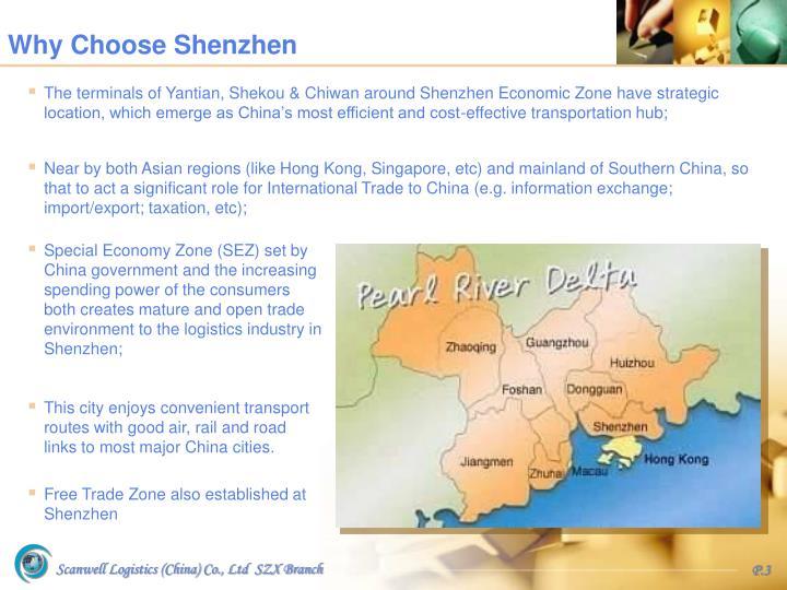 Why Choose Shenzhen