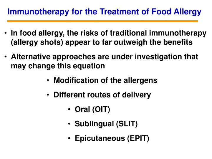 Immunotherapy for