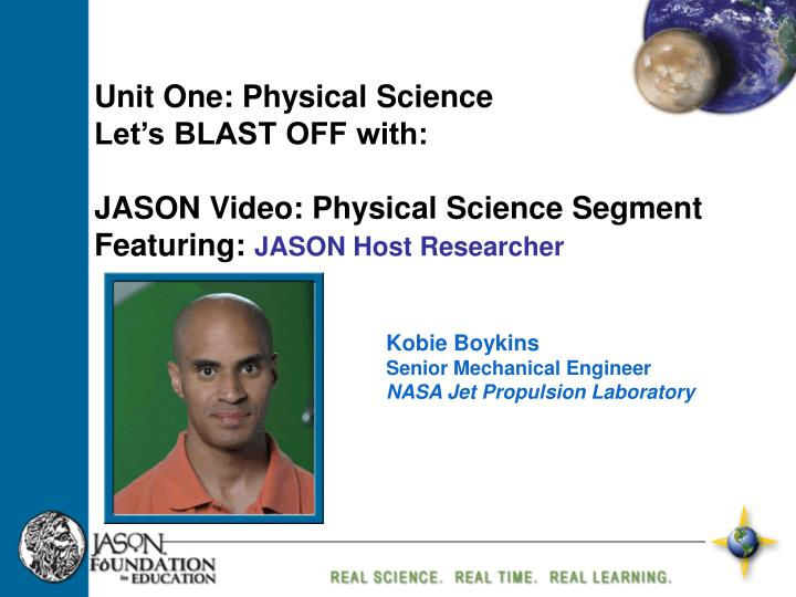 Unit One: Physical Science