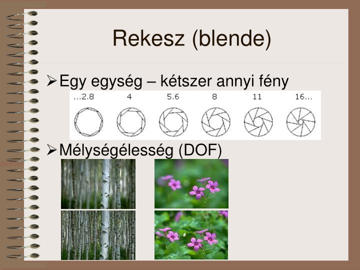 Rekesz (blende)