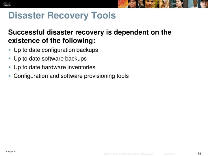 Disaster Recovery Tools