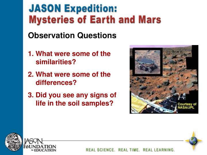 Observation Questions