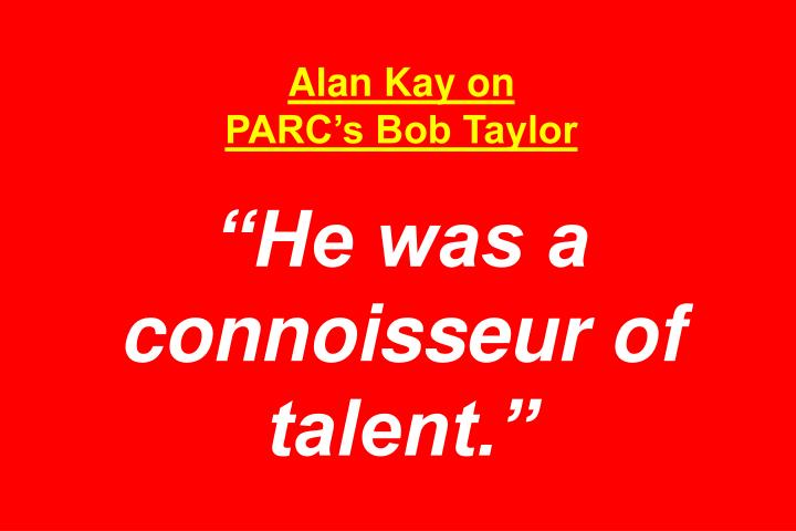 Alan Kay on