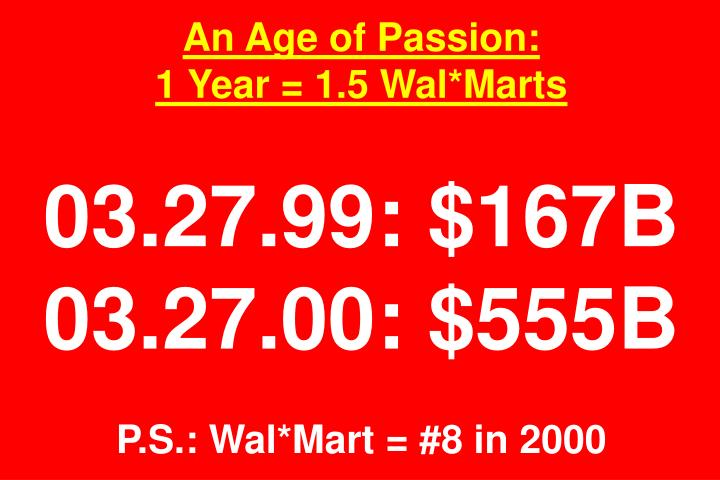 An Age of Passion: