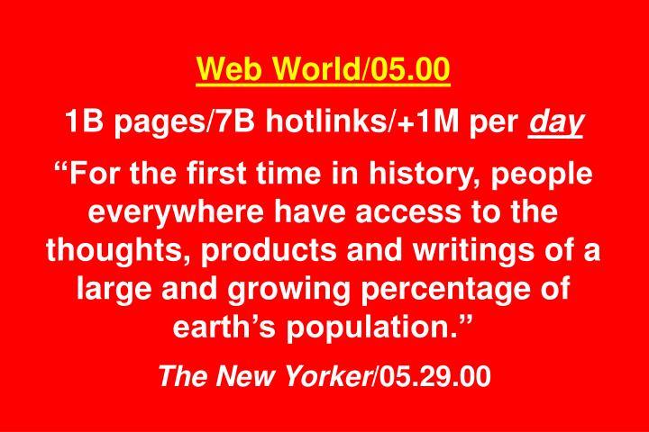 Web World/05.00