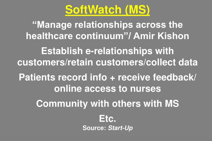 SoftWatch (MS)