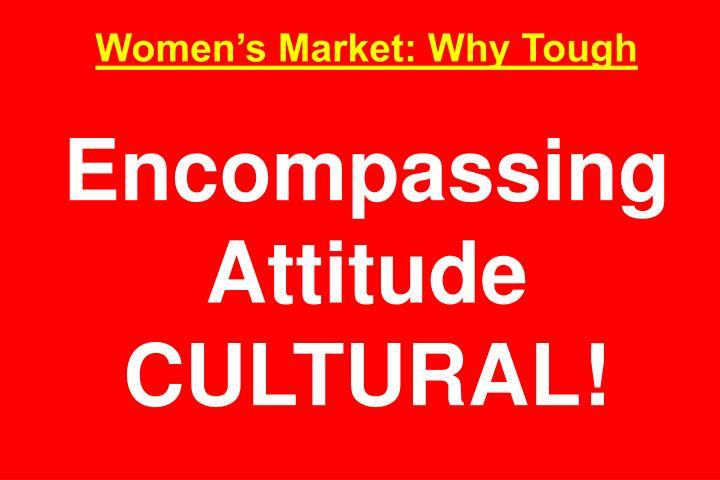 Women's Market: Why Tough
