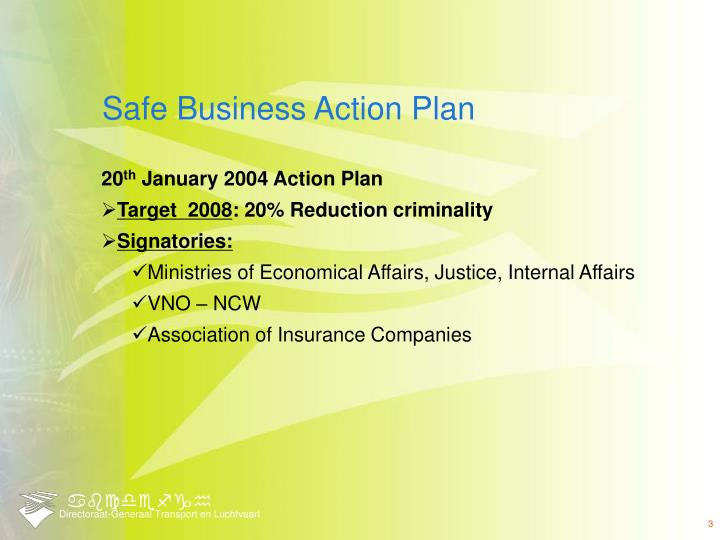 Safe business action plan1
