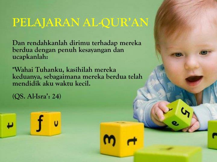 PELAJARAN AL-QUR'AN