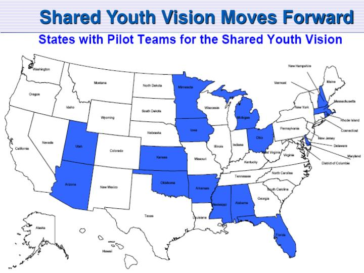 Shared Youth Vision Moves Forward
