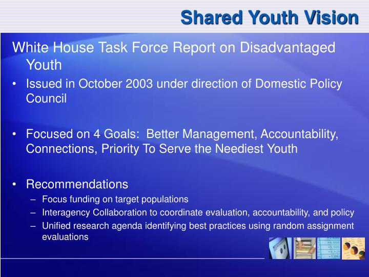 Shared Youth Vision