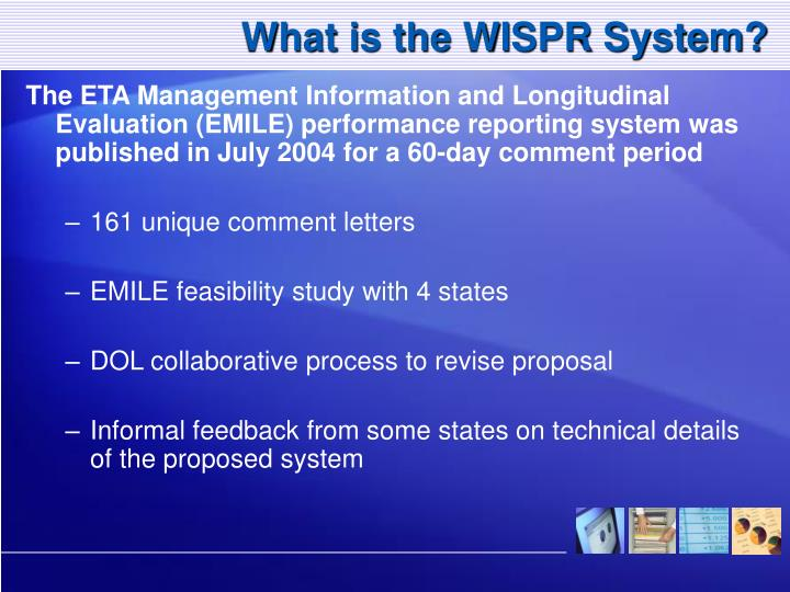 What is the WISPR System?