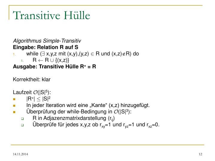 Transitive Hülle