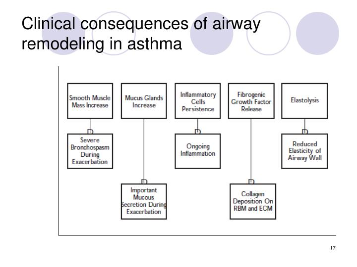 Clinical consequences of airway remodeling in asthma