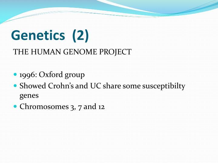 Genetics  (2)