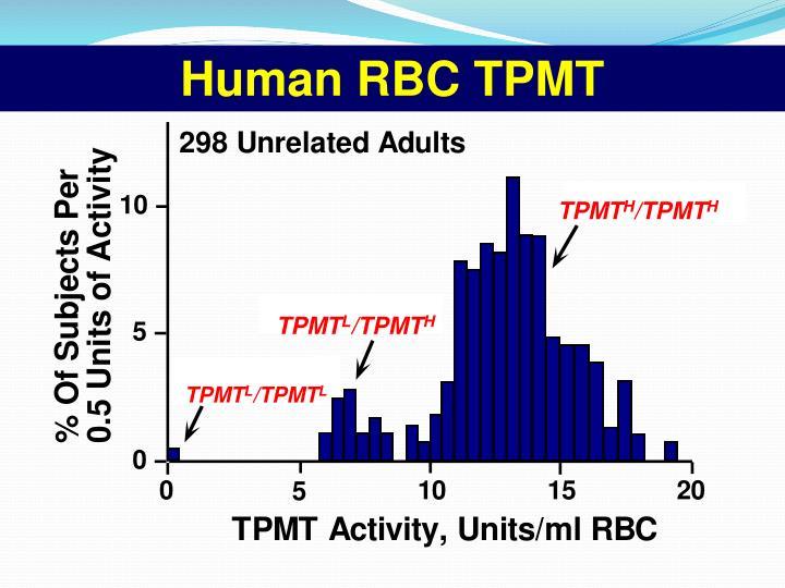 Human RBC TPMT