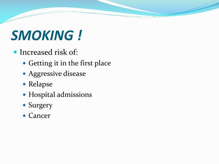 SMOKING !