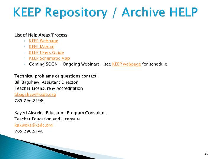 KEEP Repository /