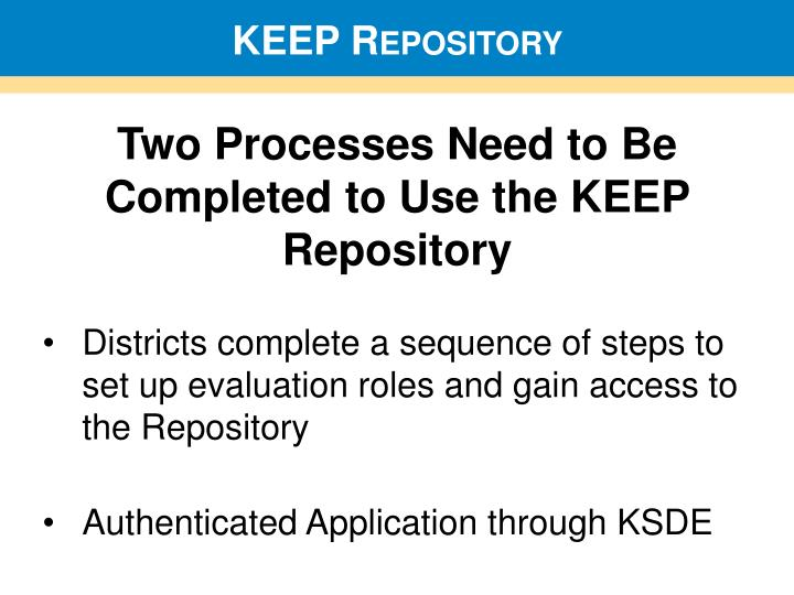 KEEP Repository