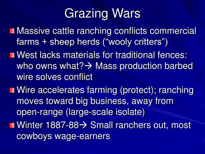 Grazing Wars