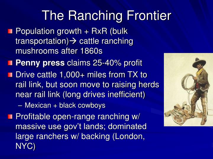 The Ranching Frontier
