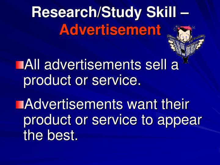Research/Study Skill –