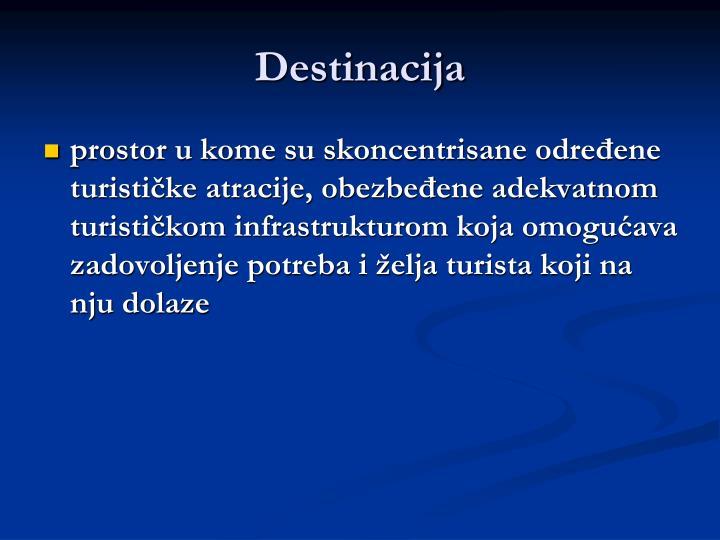 Destinacija