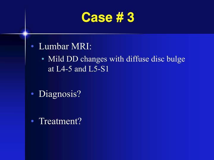 Case # 3