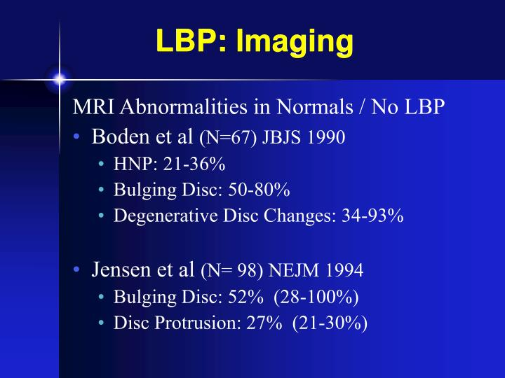 LBP: Imaging