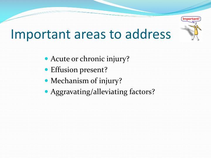 Acute or chronic injury?