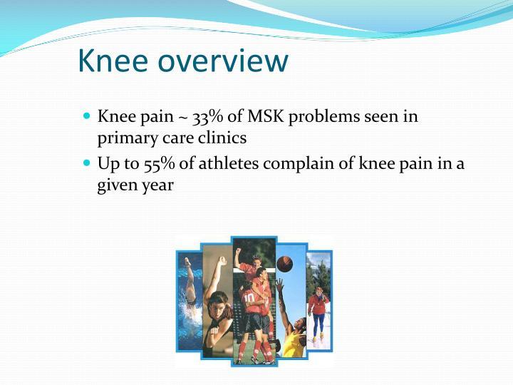 Knee overview