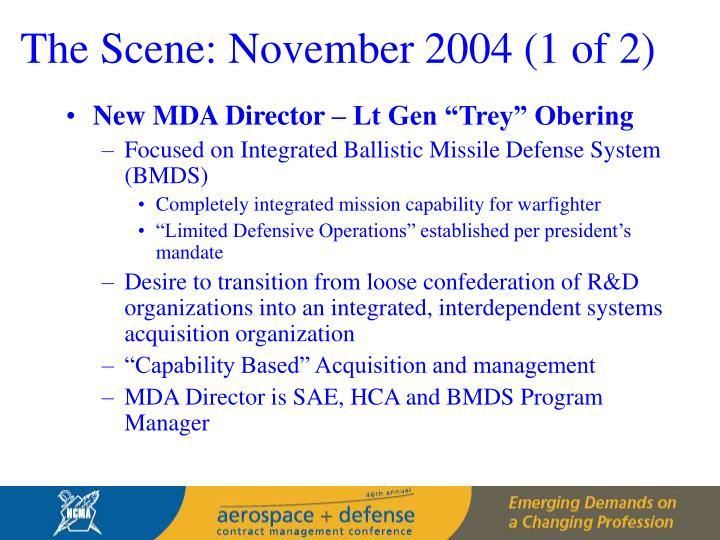 The Scene: November 2004 (1 of 2)
