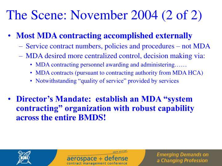 The Scene: November 2004 (2 of 2)