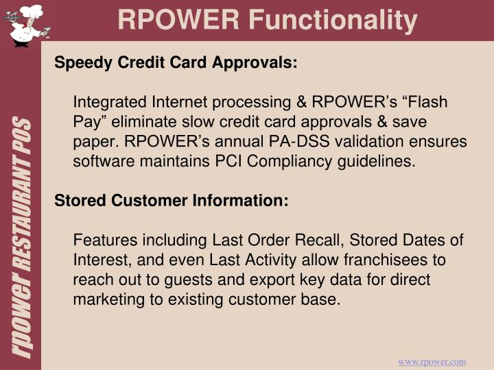 Speedy Credit Card Approvals: