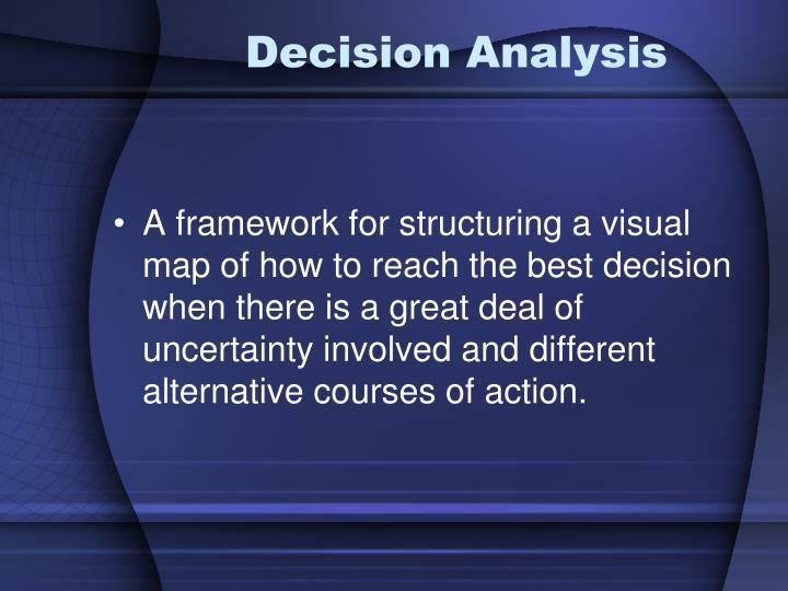 Decision Analysis
