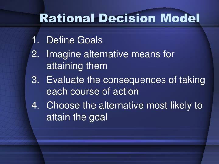 Rational Decision Model