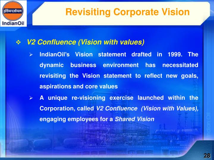 Revisiting Corporate Vision