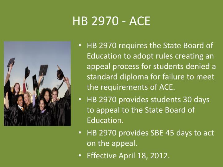 HB 2970 - ACE