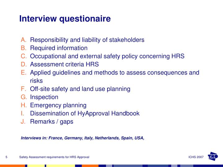 Responsibility and liability of stakeholders