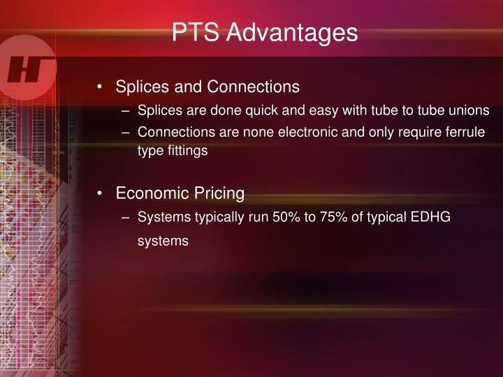 PTS Advantages
