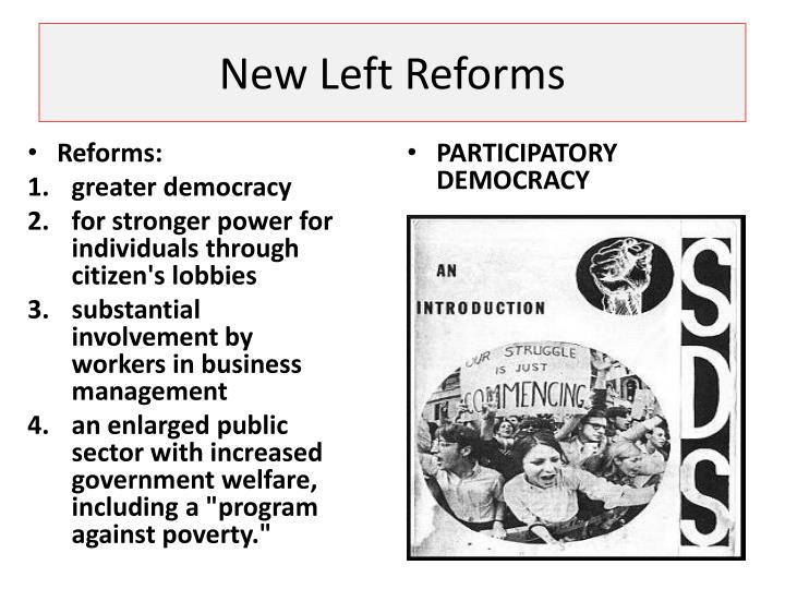 New Left Reforms