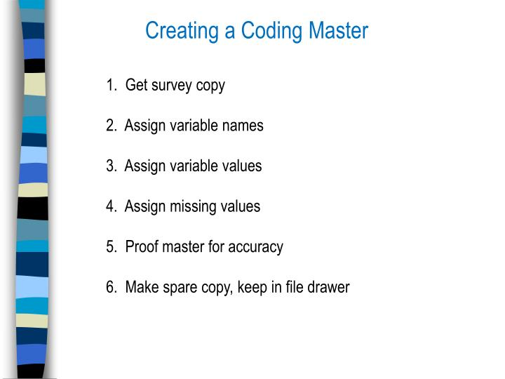 Creating a Coding Master