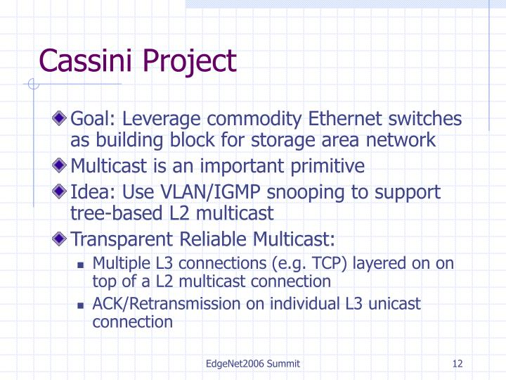 Cassini Project
