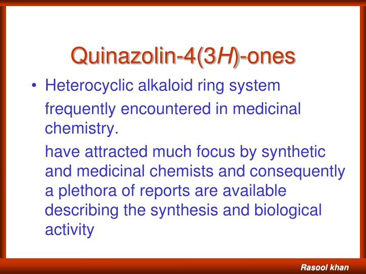 Quinazolin-4(3