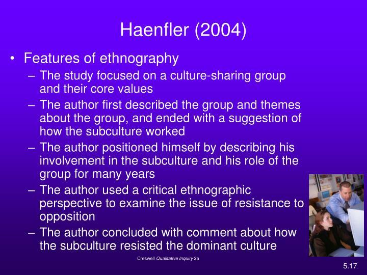Haenfler (2004)